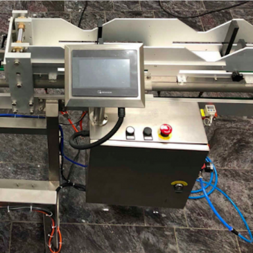 Labeling machine for all types of pouches and bags