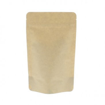 Stand Up Pouch brown Kraft paper / 100% compostable (Pouches)