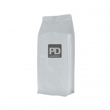Flat bottom pouch no zipper