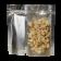 Standup pouch matt silver / matt clear